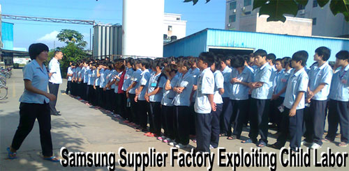 Samsung Takes Distance from Child Labour