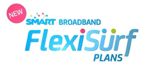 Smart's new Broadband FlexiSurf Plans offer convenient Internet connection solution at very reasonable prices.