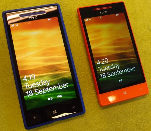 It's clear to see that the Windows Phone 8S is the quirkier, shorter and more affordable device of the two.