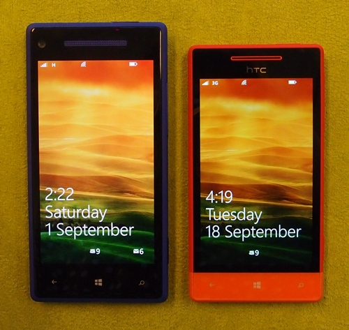 Welcoming the new WP8 devices by HTC.