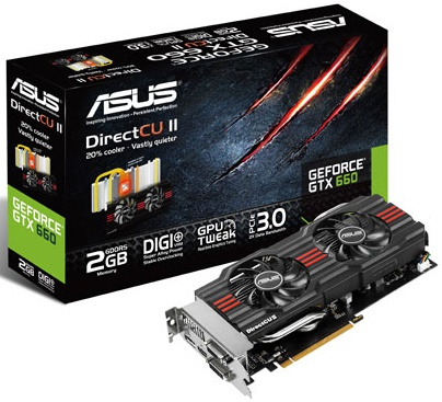 ASUS GTX660-DC2-2GD5