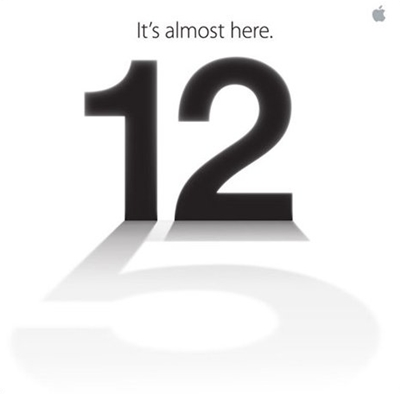 "Are you thinking what we're thinking? Yup, the huge shadow of the numeral ""5"" at the bottom of the 12th September launch date couldn't have been any more obvious than this."