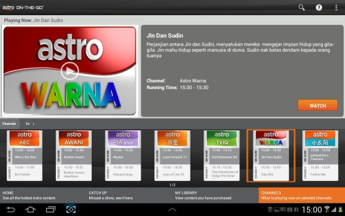 Astro On-The-Go Brings More Entertainment to Android Devices