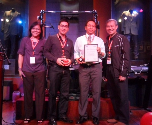 Photo shows (from left) Wordtext Systems Inc. Vice President Jing Laurente, Meinhardt (Philippines) Head of CAD Arch. Arnold Tacorda, Meinhardt (Philippines) Director Engr. Oscar Relucio and Autodesk Philippines Country Manager Teddy D. Tiu. (Image Source: Autodesk Philippines)