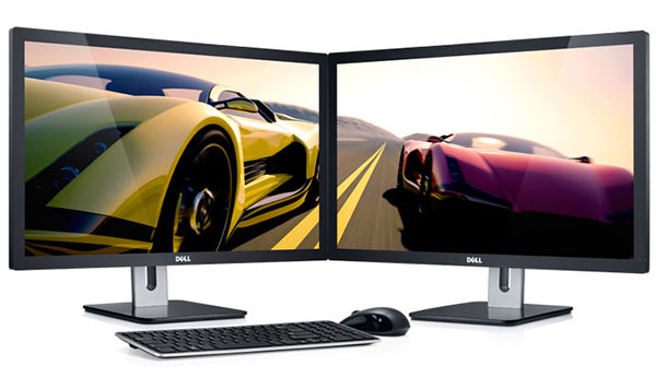 What's better than a Dell S2740L 27-inch monitor? Two S2740Ls, of course!