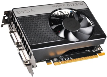 EVGA GeForce GTX 650 SC