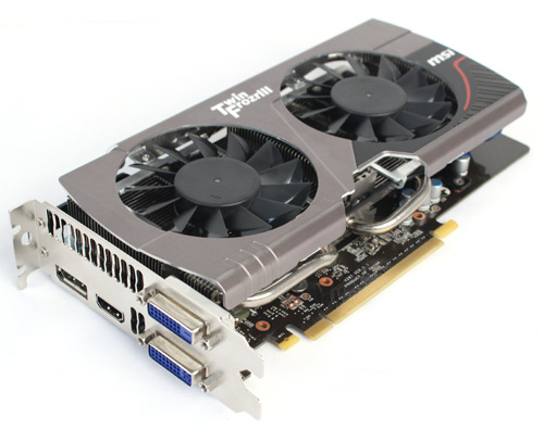 MSI GeForce GTX 660 Twin Frozr II OC
