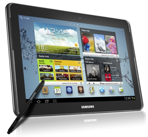 The Samsung GALAXY Note 10.1 is the perfect device for those who always have overflowing creative ideas as it allows them to simplify idea capture with its enhanced performance, precise S-Pen and seamless multitasking.