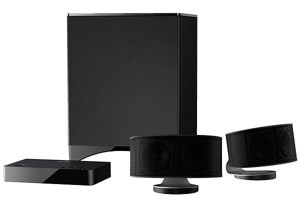 The Onkyo LS3100 is a 2.1-channel speaker system. (Image source: Onkyo.)
