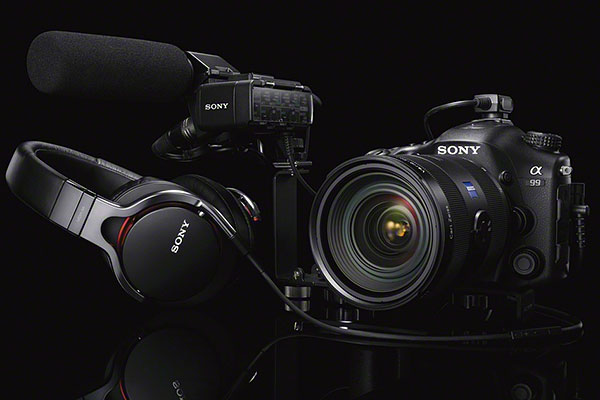 Sony is also selling an optional XLR adapter kit that connects to the new multi-interface shoe on the camera. The adapter will have two XLR inputs. Left and right channels can also be controlled separately.