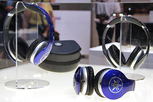 According to Yamaha, the over-the-ear PRO500 uses 'premium drivers'. The headphones are available in blue and black.