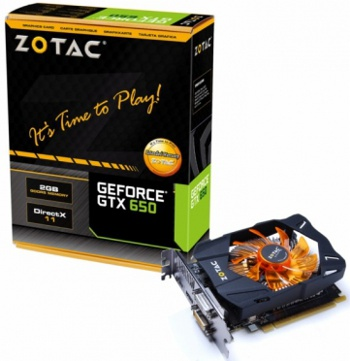 Zotac GeForce GTX 650
