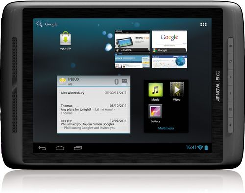 Arnova Brings Out Android-Powered G3 Tablets ...