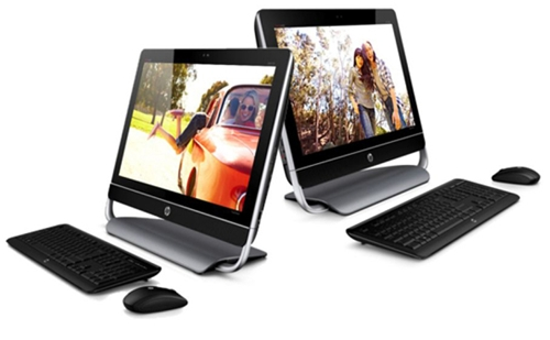 HP Envy 23/Envy 20 TouchSmart AIOs (Image Source: HP)