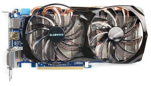 Gigabyte's GTX 660 is quite compact thanks to its minimal fan shroud, measuring 255x 135 x 35mm