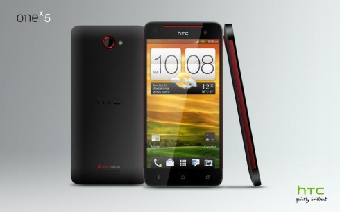 A concept image of the HTC One X 5 by Danny Tu. <br> Image source: Concept Phones