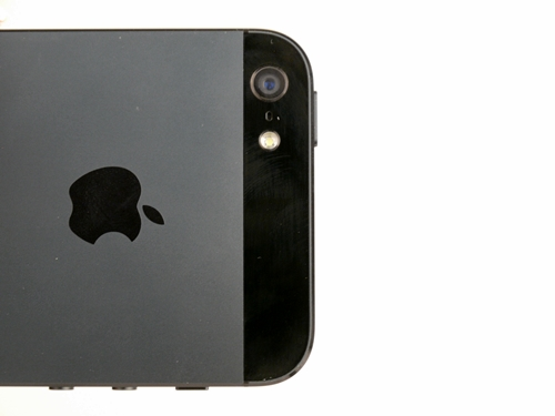 The iSight camera on the iPhone 5 comes with an 8-megapixel BSI CMOS sensor and a f/2.4, 3mm lens. In short? It's a versatile shooter that's well-prepared for low-light situations.
