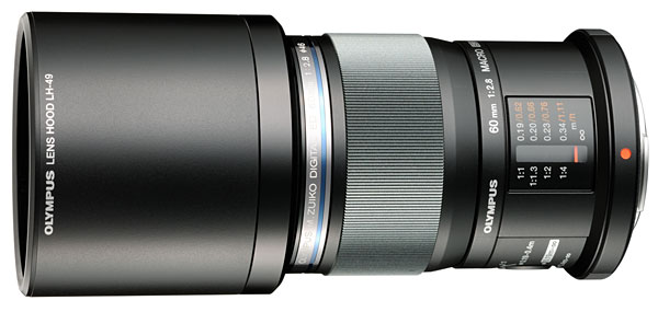 The LH-49 is a sliding lens hood for the 60mm which doesn't come with the lens.