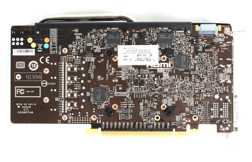 Like ASUS and Gigabyte, MSI uses a custom PCB with upgraded components.