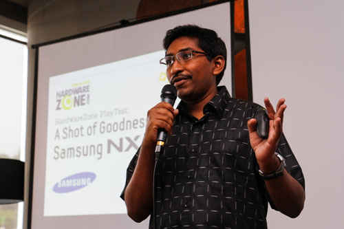HardwareZone editor Vijay Anand opened the event with a short introduction.