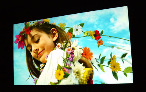 The 84-inch X9000 showed its true mettle when native 4K content is pumped into its panel. We were blown away by the amount of picture detail available on the 8-million pixel screen.