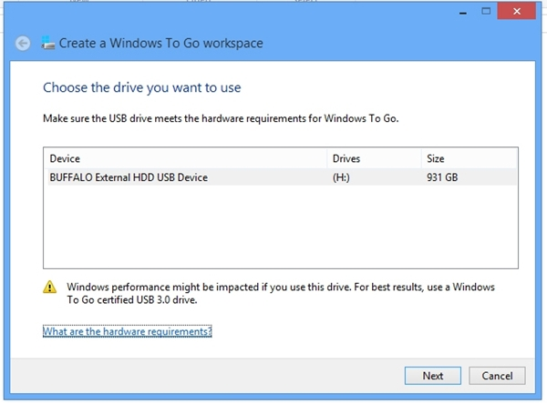 On the Go with Windows To Go : Windows 8 - Optimized for