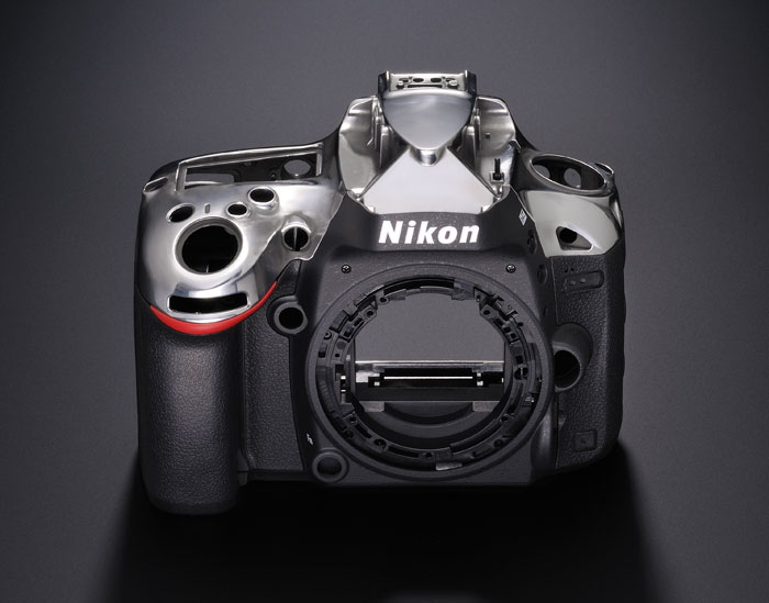 Only the top and rear body covers are made from magnesium, the rest is made of plastic. Even then, the D600 is a weather and dust-sealed camera.