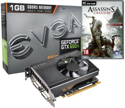 EVGA GeForce GTX 650 Ti SSC 1GB
