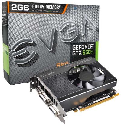 EVGA GeForce GTX 650 Ti SSC 2GB