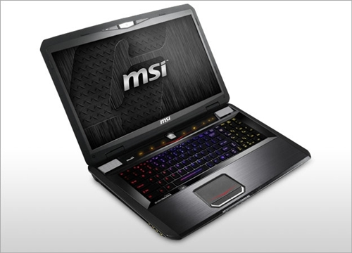The MSI GT70 (Image Source: MSI)