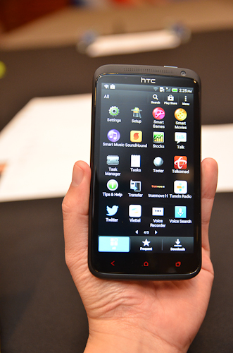 The HTC One X+ is a solidly built phone that simply performs.