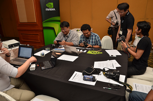 We were given the opportunity to play around with some of the latest devices that are powered by NVIDIA's Tegra 3 processor.