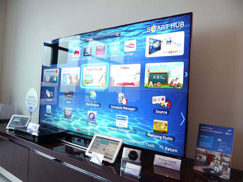 Samsung 75-inch ES9000 LED Smart TV
