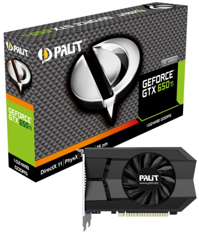 Palit GeForce GTX 650 Ti 1GB OC