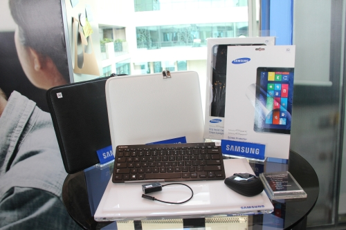 Here are some of the accessories which can be purchased for the ATIV Smart PC