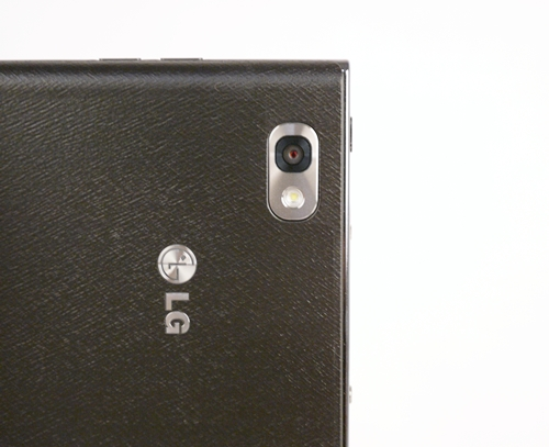 The LG Optimus Vu comes equipped with a 8-megapixel camera sensor with auto focus and LED flash.