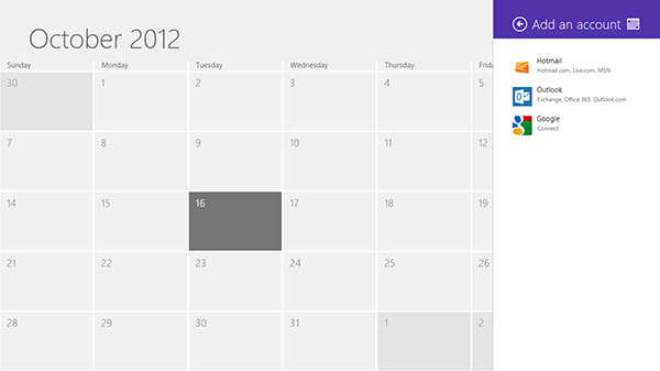 Hotmail, Outlook, and Google accounts are supported in the Calendar app. Will there ever be support for Apple's iCloud?