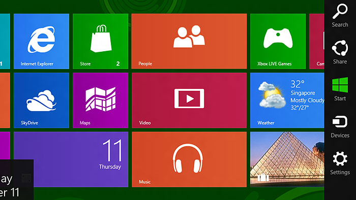 Windows 8  Common Touch Gestures  Multi