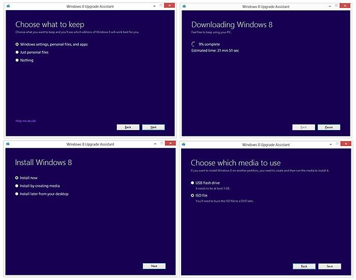 Windows 8 Upgrade Paths : Windows 8: Introduction, Versions