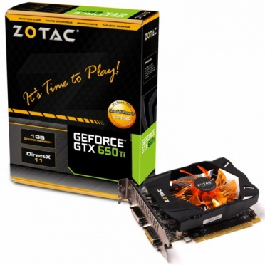 Zotac GeForce GTX 650 Ti 1GB