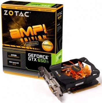Zotac GeForce GTX 650 Ti AMP! Edition
