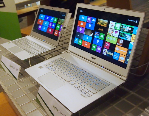 The Acer Aspire S7 Ultrabooks are a confirmation of Acer's promise to bring consumers premium products that don't skimp on components.
