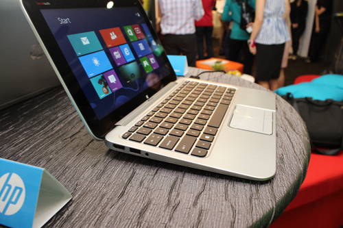 The HP Envy 4 Touchsmart Ultrabook is a touchscreen version of HP's Envy 4 Ultrabook. Although, the touchscreen also makes it a bit heavier and thicker.