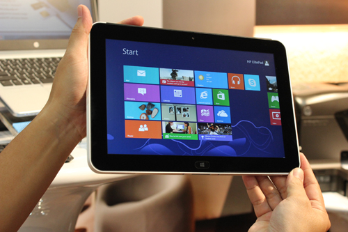 The HP Elitepad 900 looks set to be one of the first enterprise-targeted tablets.