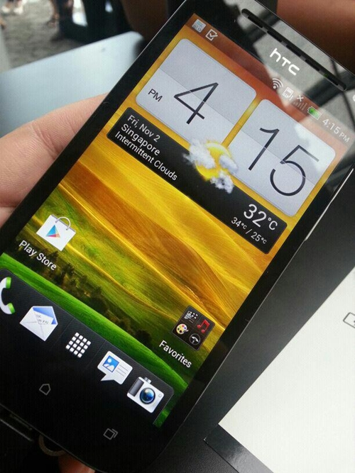 The HTC One SV has a 4.3-inch Super LCD 2 display.