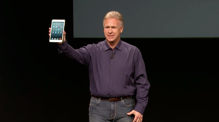 Phil Schiller was on stage to unveil the Apple iPad Mini.
