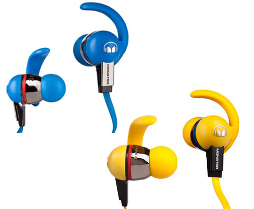 """Monster iSport Immersion and iSport Livestrong (PhP 12,000) - These in-ear headphones has a """"no-slip fit"""" feature perfect for active athletes on-the-go."""