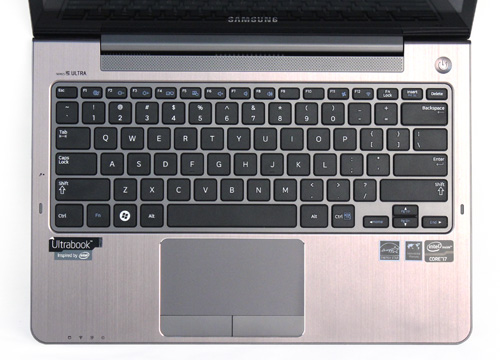 As with its predecessor, the keyboard is one of the highlights on the Ultra Touch.
