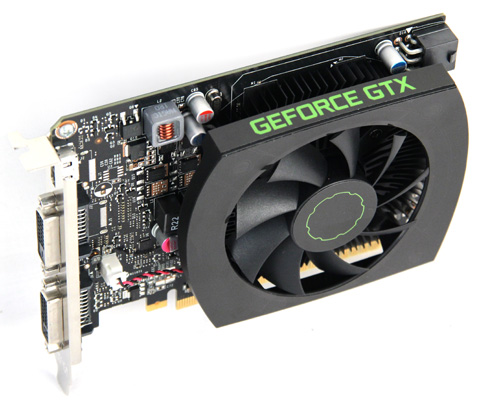 The reference design GTX 650 Ti has a similar build to NVIDIA's GTX 650, but utilizes a larger fan. Overall, the card is still compact.