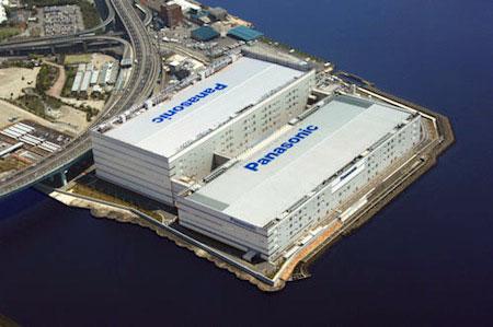 Panasonic's Amagasaki plasma panel plant.